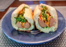 Bahn mi hot dogs