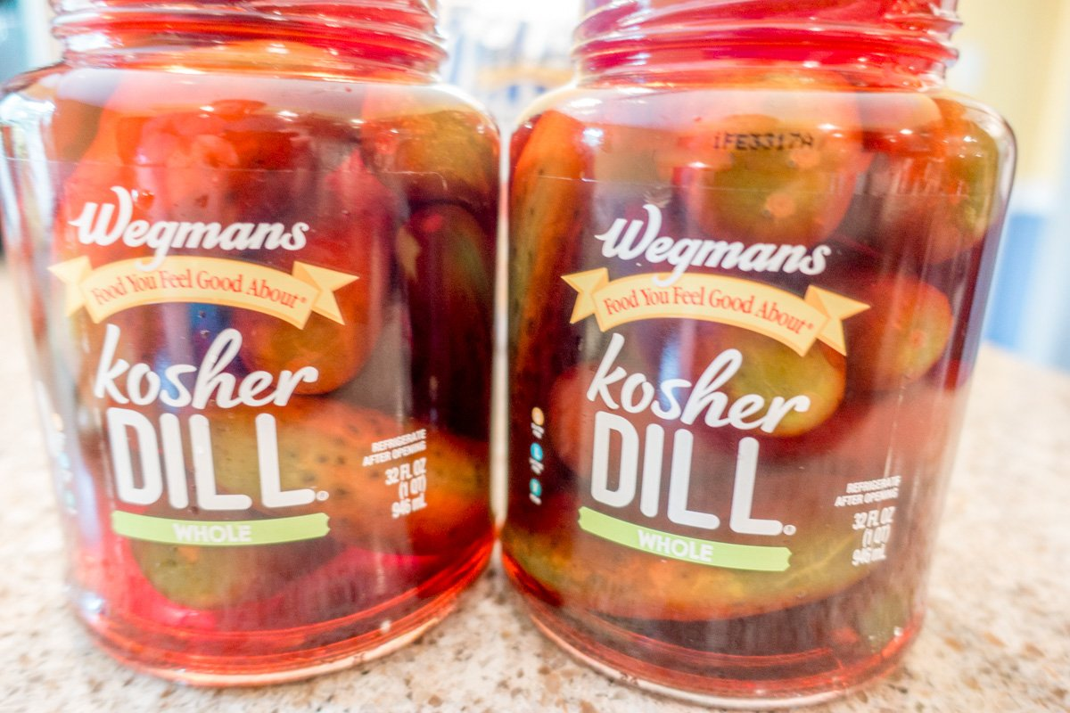 Koolickles, Kool-aid-soaked pickles