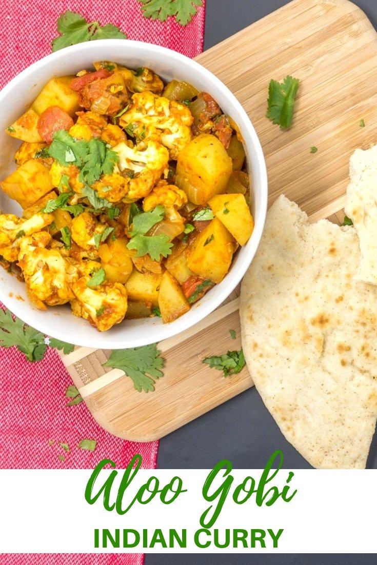 Try this easy vegetarian aloo gobi recipe