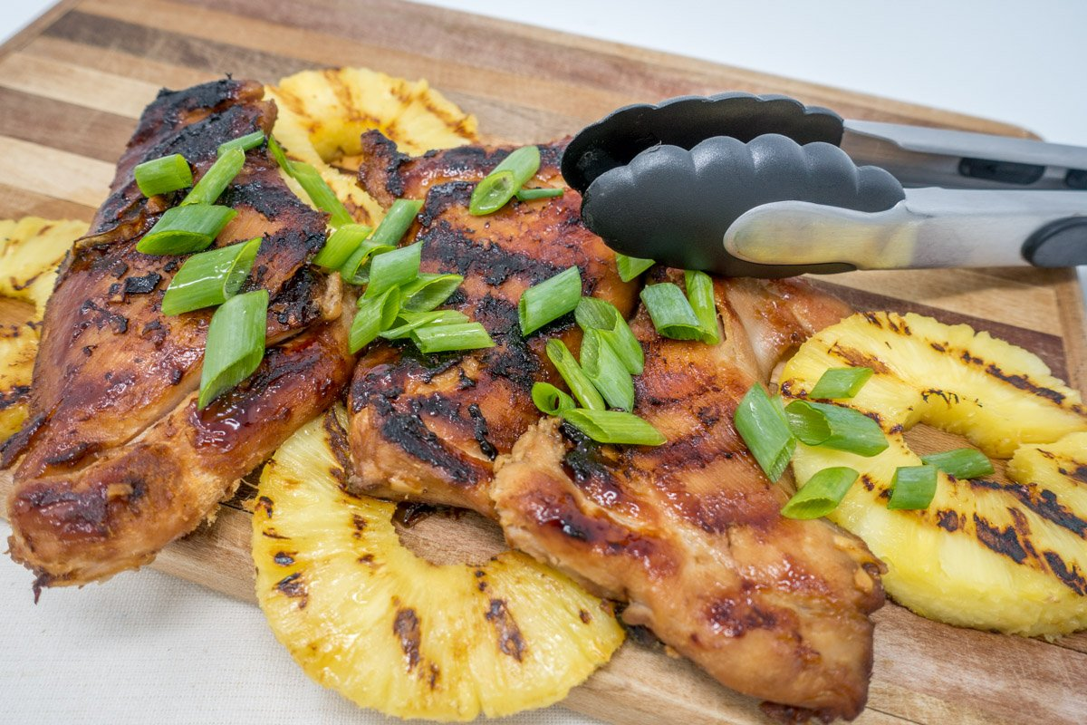 Try this grilled Hawaiian BBQ chicken recipe for a flavorful, filling dinner
