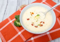 Easy broccoli cheese soup recipe is a great meal in just 30 minutes