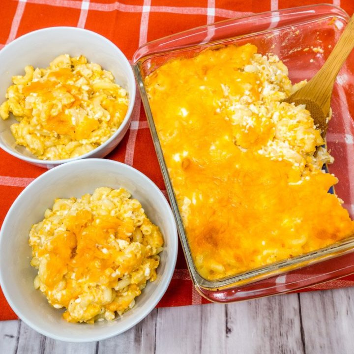 Try this quick and easy mac and cheese recipe