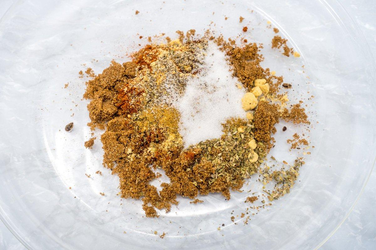 Spice rub for slow cooker pork shoulder